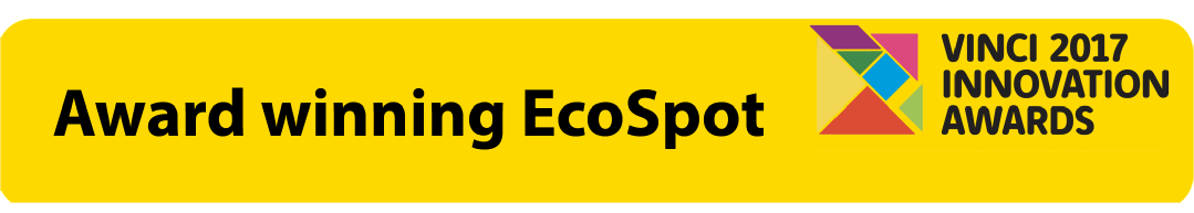 Learn more about the award winning  EcoSpot.