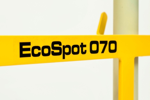 The EcoSpot: mortar cement and plaster mixing adjustable spot board.