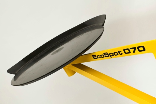 The EcoSpot: spot board mortar mixing board for builders and bricklayers.
